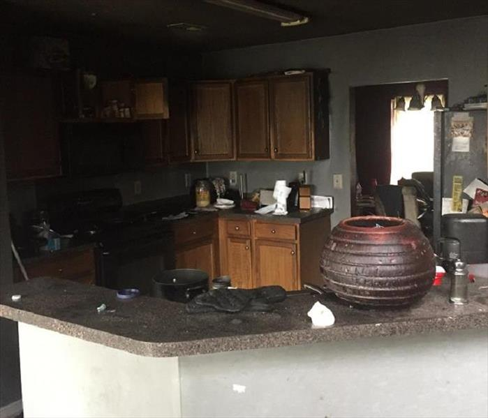 Local Home Destroyed and Repaired  Before