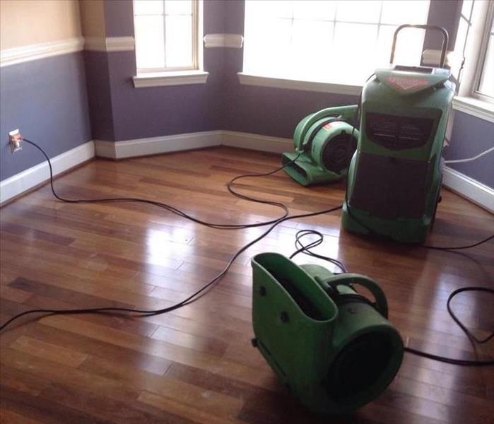 Water Damage in North Cabarrus County